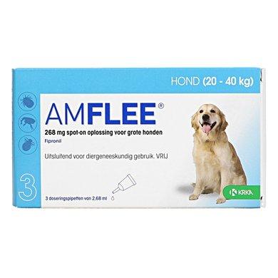 Amflee 268mg Spot-On Hond L 3 Pipetten