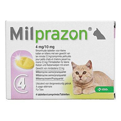 Milprazon Ontwormingsmiddel Kat 4mg