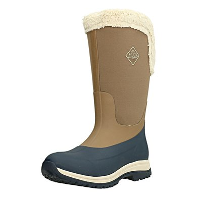Muck Boot Apres Woman Tall Beige/Navy
