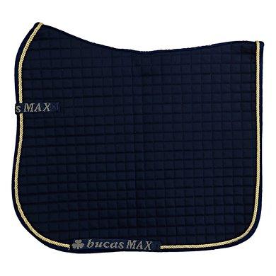Bucas Max Saddle Pad Dress Navy/Gold