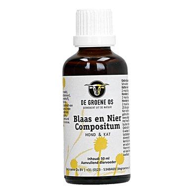 Groene Os Blaas/Nier Compositum Hond/Kat 50ml