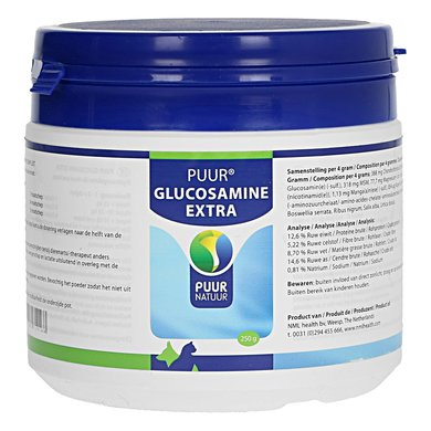 Puur Natuur Glucosamine Extra / Compleet Hond/Kat 250g
