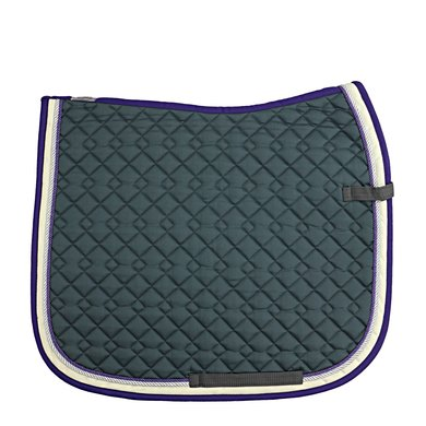 Imperial Riding Saddlepad DS Verona Antrecite-Lilac Full
