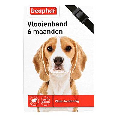 Beaphar Vlooienband hond zwart 1st