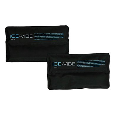 Ice-Vibe Cold Packs - Hock (6 pair/PK) Black