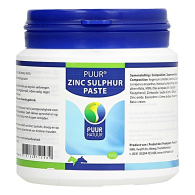 Puur Natuur Zinc Sulfur Horse And Pony 150gr
