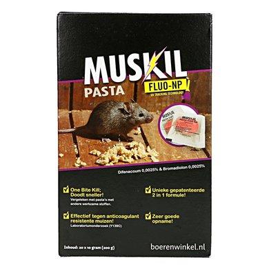 Muskil Pasta Fluo-np Muis (20x10g)