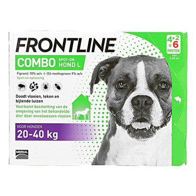 Frontline Combo Spot-On 20-40kg L Chien