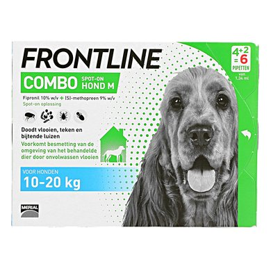 Frontline Flea Treatment Combo Spot-On 10-20kg M Dog