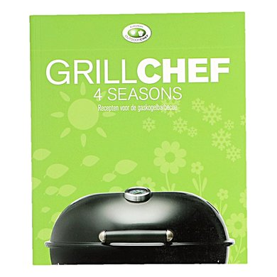 "Outdoorchef Kookboek ""Grillchef 4 Seasons"" Nederlands"