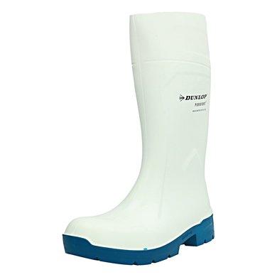 Dunlop Da60131 Purofort Stiefel Weiß