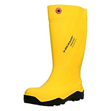 Dunlop C762241 Purofort Stiefel S5 Gelb