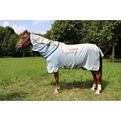 Rambo Summer Series Turnout 0g Grey/Blue 160/213