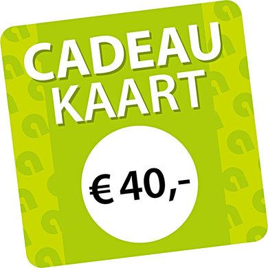 Agradi Cadeaukaart € 40