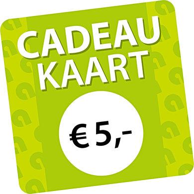 Agradi Cadeaukaart € 5