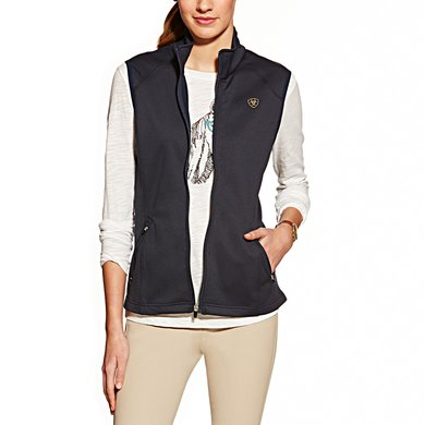 Ariat Conquest Vest Ladies Navy XS