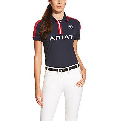 Ariat New Team Polo R Navy