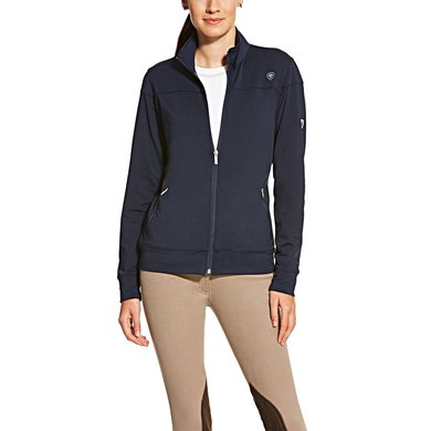 Ariat Ballad Full Zip Ladies Navy XL