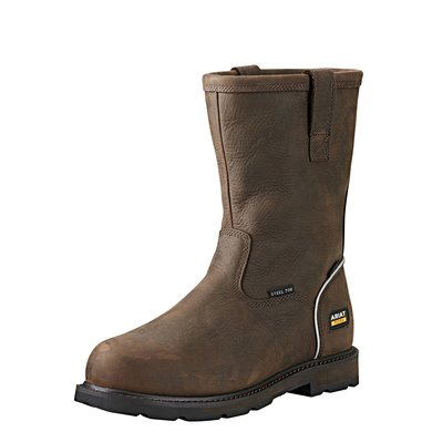 "Ariat Mens Groundbreaker 10"" Steel Toe EN Iso D Brown"