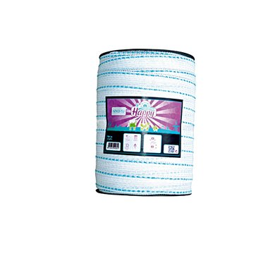 Horizont Lint Happy TLD T40 Wit/turquoise 200m