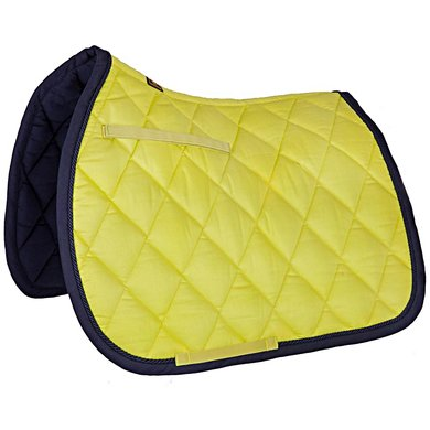 BR Saddlepad General Purpose Event Cotton with Luxury Citron