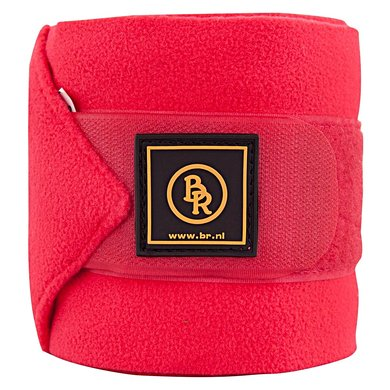 BR Bandages/polo Event fleece 2m set/luxe tas Pony Roze 4m