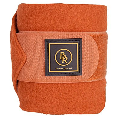 BR Bandages/polo Event Fleece 3 Mtr.set/4 Luxe Tas Tobacco