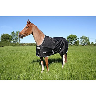 Bucas Anniversary Turnout Light Stay-Dry Schwarz/Silber