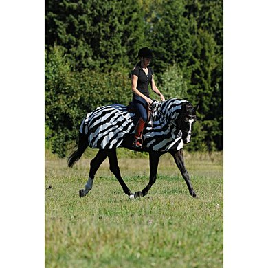 Bucas Fliegendecke Buzz-Off Riding Zebra