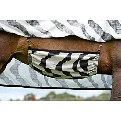 Bucas Buzz-Off Belly Pad Zebra