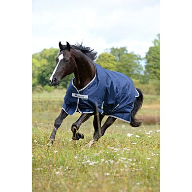 Bucas Turnout Freedom 300g Navy - Silver 145