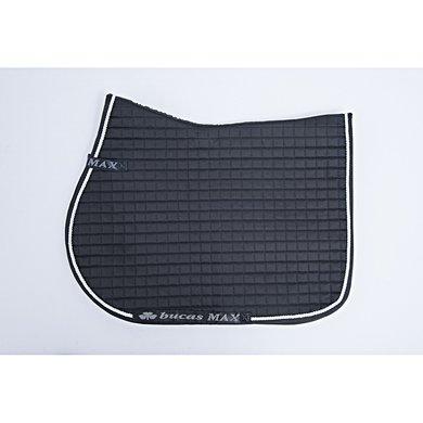 Bucas Max Saddle Pad Jump/AP Black/Silver