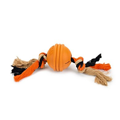 Beeztees Sumo Fit Ball Oranje TOUW:31cm/DIA. BAL: 7,9cm