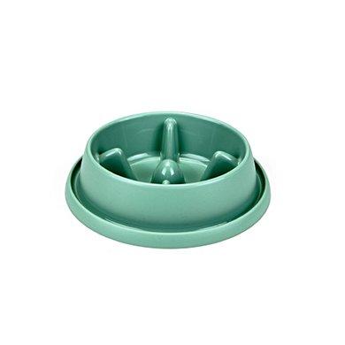 Beeztees Plastic Anti-schrokbak Morien Groen 25,5x23x6,5cm
