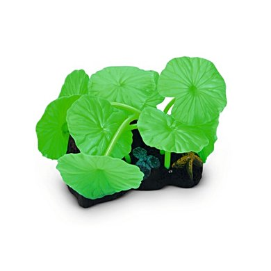 Beeztees Silicoon Lotusblad Glow In The Dark Groen 10x7x11cm
