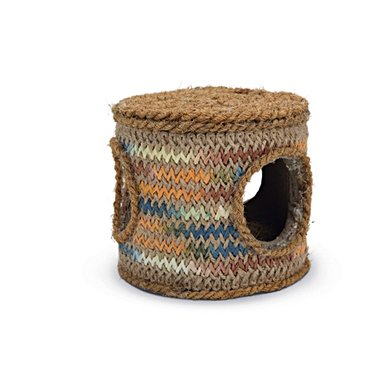 Beeztees Knaagdierspeelgoed Coco Rope Tonnetje 12x12x10,5cm