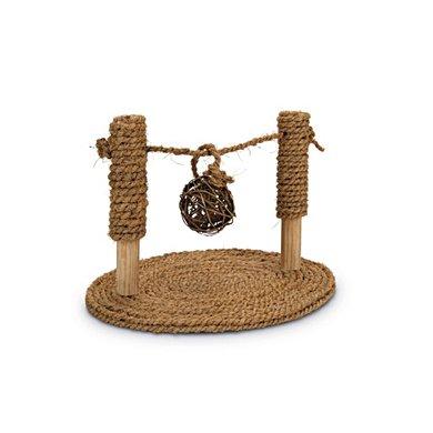 Beeztees Knaagdierspeelgoed Coco Rope Speelbrug 19x24x16,5cm