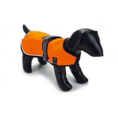 Beeztees Safety Gear Nylon Veiligheidsvest met Led Verlichting Oranje