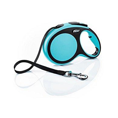 Flexi New Comfort Band Blauw L, 8 MTR, MAX. 50 KG