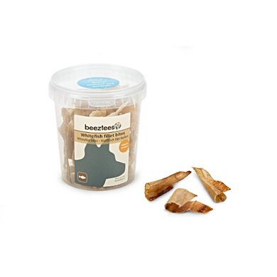 Beeztees Witvis Filet Bites 100g