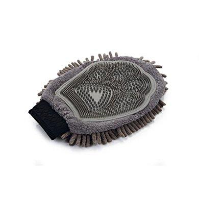Dirty Dog Grooming Handschoen Grijs 25x18x2cm