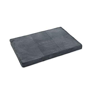 Beeztees Ligkussen Memory Foam Grijs 100x70x8cm