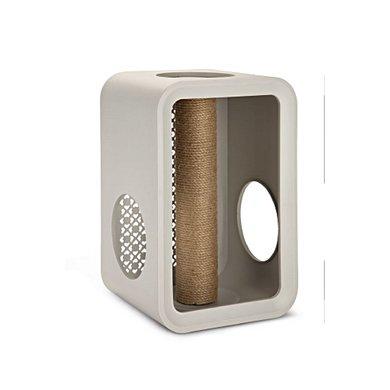 Beeztees Cat Cube Scratch Grijs 49x29x32,6cm