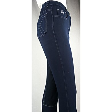 Easy Rider Rijbroek Dames Zohra Flex full Navy 40