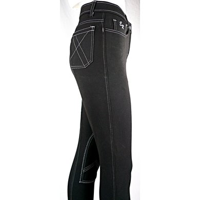 Easy Rider Rijbroek Dames Zohra Flex knee SK Black 40