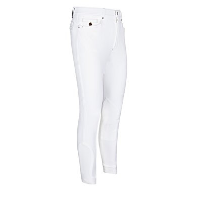 euro-star Rijbroek Heren Henry Fabric Knee White 98