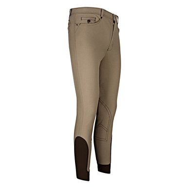 euro-star Rijbroek Heren Henry Fabric Knee Umber 110