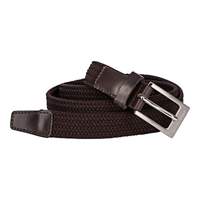 euro-star Unisex Plaited Belt Classy Chocolate L