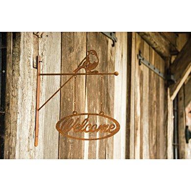 Esschert Rust Welcome Sign Colourd
