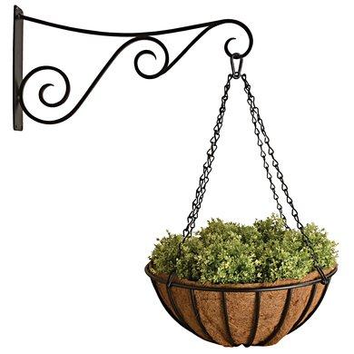 Esschert Reuzen hanging basket 60 cm & haak